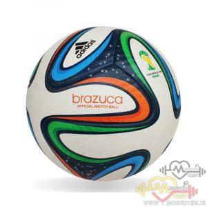 توپ فوتبال آدیداس جام جهانی ۲۰۱۴ برازوکا Adidas Brazuca