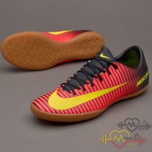 کفش فوتبال سالنی نایک – نارنجی Nike Mercurial
