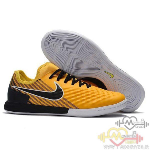 کفش فوتبال سالنی نایک – زرد Nike Futsal Magistax Final 2