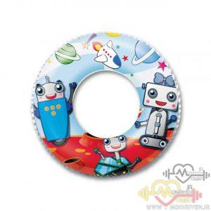 تیوب شنای کودک طرح روبوت