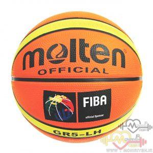 توپ بسکتبال مولتن مدل GR5LH