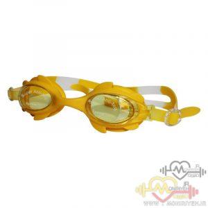عینک شنا بچگانه زرد