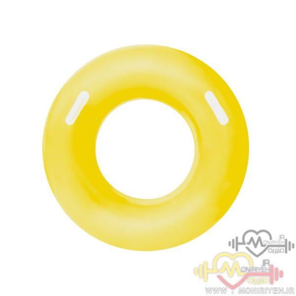 تیوپ شنای کودک H2o Go مدل دایره زرد