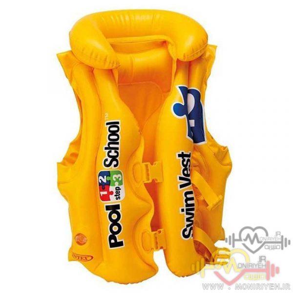 جلیقه نجات اینتکس مدل Pool School 2