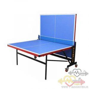 میز پینگ پنگ ۴ چرخ ملامینه D2