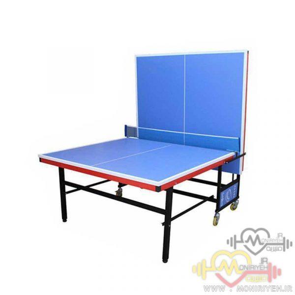 میز پینگ پنگ ۴ چرخ MDF مدل E3