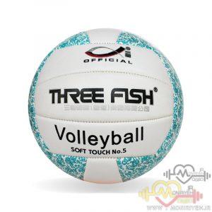 توپ والیبال دوختی مدل Three Flash