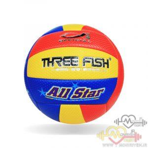 توپ والیبال دوختی برند Three Flash