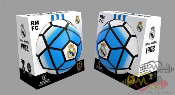 توپ فوتبال بتا مدل Real Madrid 5 سایز 5