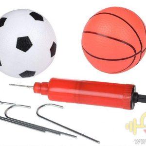 دروازه فوتبال و تخته بسکتبال مدلfootball basketball 2IN1