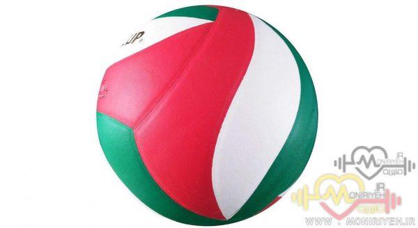 توپ والیبال بست کاپ مدل RVB305WRGH