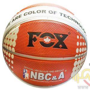 توپ بسکتبال فاکس مدل Nbc&a