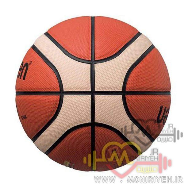 توپ بسکتبال مولتن مدل GG7X با تاییدیه فدراسیون به همراه تلمبه فاکس