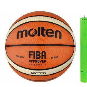 توپ بسکتبال مولتن model GF7X به همراه تلمبه fox